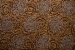 Couleur brune de cuivre d'obscurité d'Anemon 10 de texture de tissu de textile Images stock