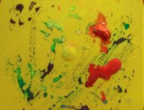 Couleur d'eau abstraite de fond de peinture photographie stock libre de droits