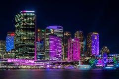 Couleur dans la ville - Sydney vif Photographie stock libre de droits