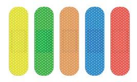 couleur de bandages Image stock
