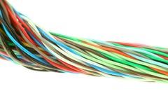 couleur de câble Photos stock