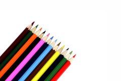 Couleur de crayon Images stock