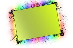 couleur de fond différente Illustration Libre de Droits