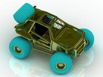 Couleur de jeep de jeu Photos stock