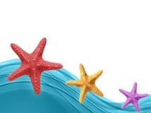 Couleur de mer d'été Photographie stock libre de droits
