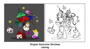 Couleur de Noël Images libres de droits