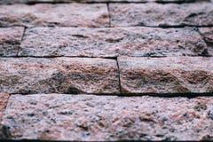 Couleur de normale de milieux de mur de briques Photographie stock libre de droits