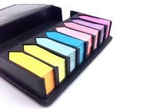 couleur de post-it Images stock
