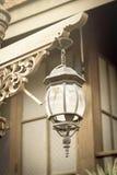 Couleur de sépia de lampe de vintage Image libre de droits