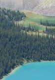Couleur des lacs glaciaires Images stock