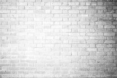 Couleur douce de blanc de ton de texture rouge de mur de briques Photo stock