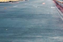 Couleur en pastel de ville de rue de vintage à la texture et au modèle créatifs photographie stock libre de droits