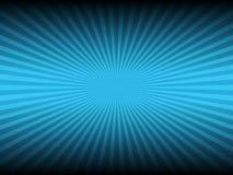 Couleur et ligne bleues abstraites fond rougeoyant Images stock