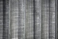 Couleur métallique gris-foncé de texture ondulée en métal image libre de droits