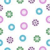 Couleur multi de rétro de style fond géométrique sans couture de modèle pour le cadeau de papier ; tissu, papier peint, contexte  illustration stock