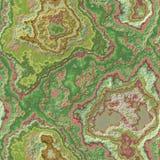 Couleur naturelle de fond sans couture pierreux de modèle d'agate de marbre - vert clair, beige, de rose, ocre et kaki avec rugue illustration stock