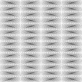 Couleur noire et blanche de modèle géométrique Images stock