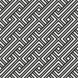 Couleur noire et blanche de modèle géométrique Photos libres de droits
