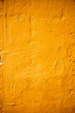Couleur orange de texture de mur en béton Photo stock