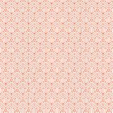 Couleur orange Diamond Pattern Background Design Illustration Stock