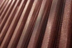 Couleur perforée durable de tôle d'acier de revêtement en métal photos stock