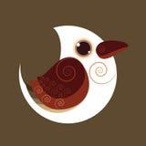 Couleur préhistorique d'abrégé sur oiseau de novaeguineae de Dacelo Photos stock