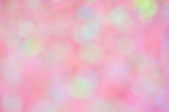 Couleur rose, blanche et jaune pour le fond ou la texture de tache floue photos stock