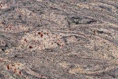 Couleur rose sensible de granit naturel de pierre avec les taches grises et les points rouges images libres de droits