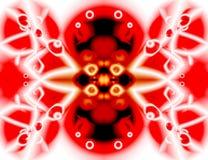 Couleur rouge de joie Photo stock