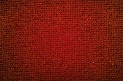 Couleur rouge de tissu de laine de texture Photos libres de droits
