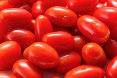 Couleur rouge de tomate-cerise de Clouse-up photos libres de droits