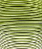 Couleur verte de l'ensemble de plat aux rangées verticales images libres de droits