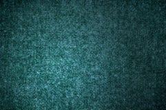 Couleur verte de tissu de laine de texture Image libre de droits
