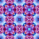Couleur violette et bleue rouge Photo libre de droits