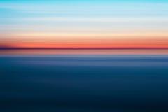 Couleurs abstraites de coucher du soleil, Images stock