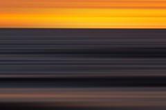 Couleurs abstraites de coucher du soleil Image libre de droits