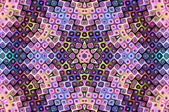 Couleurs abstraites, fractal09P illustration libre de droits