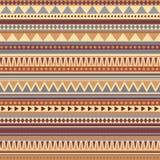 Couleurs antiques de modèle sans couture aztèque Photos libres de droits