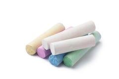 couleurs arious des craies Photographie stock libre de droits