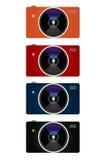 Couleurs d'appareil-photo Images stock