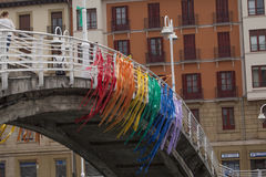 Couleurs d'arc-en-ciel de LGBT Images libres de droits
