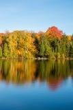 Couleurs d'automne au Québec, Canada Image libre de droits