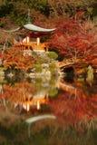 Couleurs d'automne au temple de Daigo-JI à Kyoto, Japon photos stock