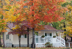 Couleurs d'automne en Caroline du Nord Photographie stock libre de droits