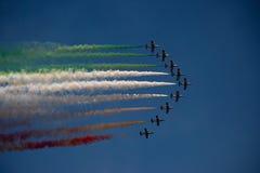 couleurs dans le ciel Photos libres de droits