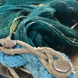 Couleurs de bord de la mer images libres de droits