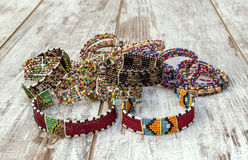 Couleurs de bracelet de masai Image stock