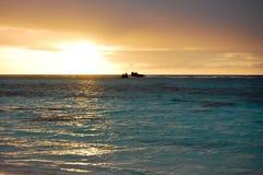 Couleurs de ciel de lever de soleil Photos libres de droits