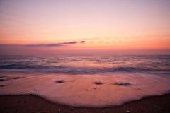 Couleurs de coucher du soleil Photos libres de droits