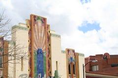 Couleurs de Denver d'architecture Image libre de droits